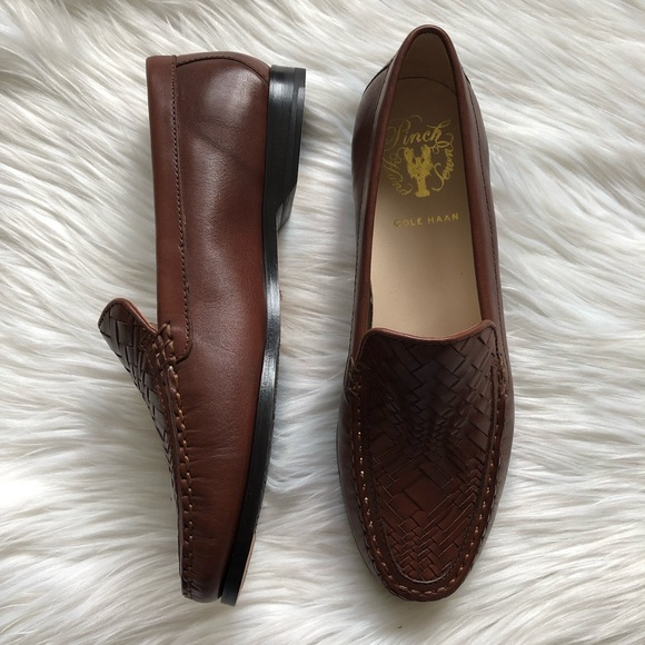 bc138a38fe6 Cole Haan Pinch Genevieve Weave Loafer in Sequoia